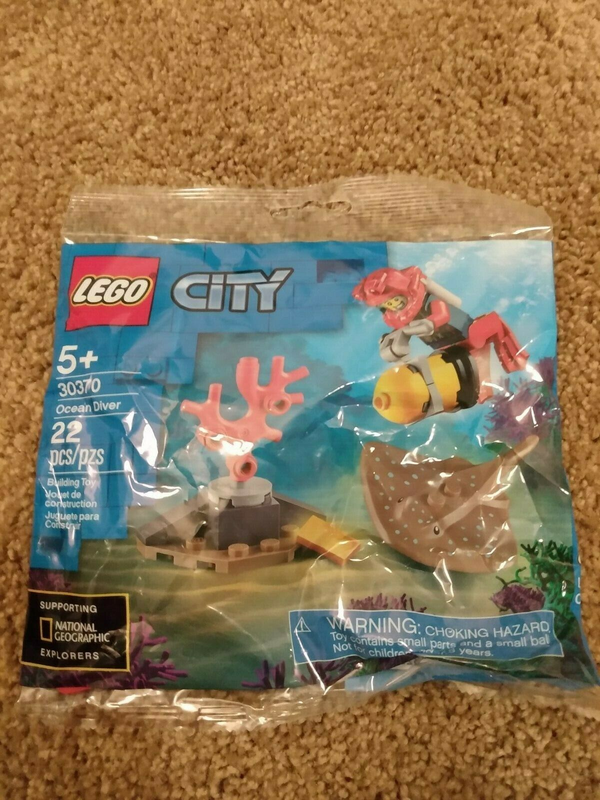 Deep Sea Diver Polybag  LEGO® City 30370