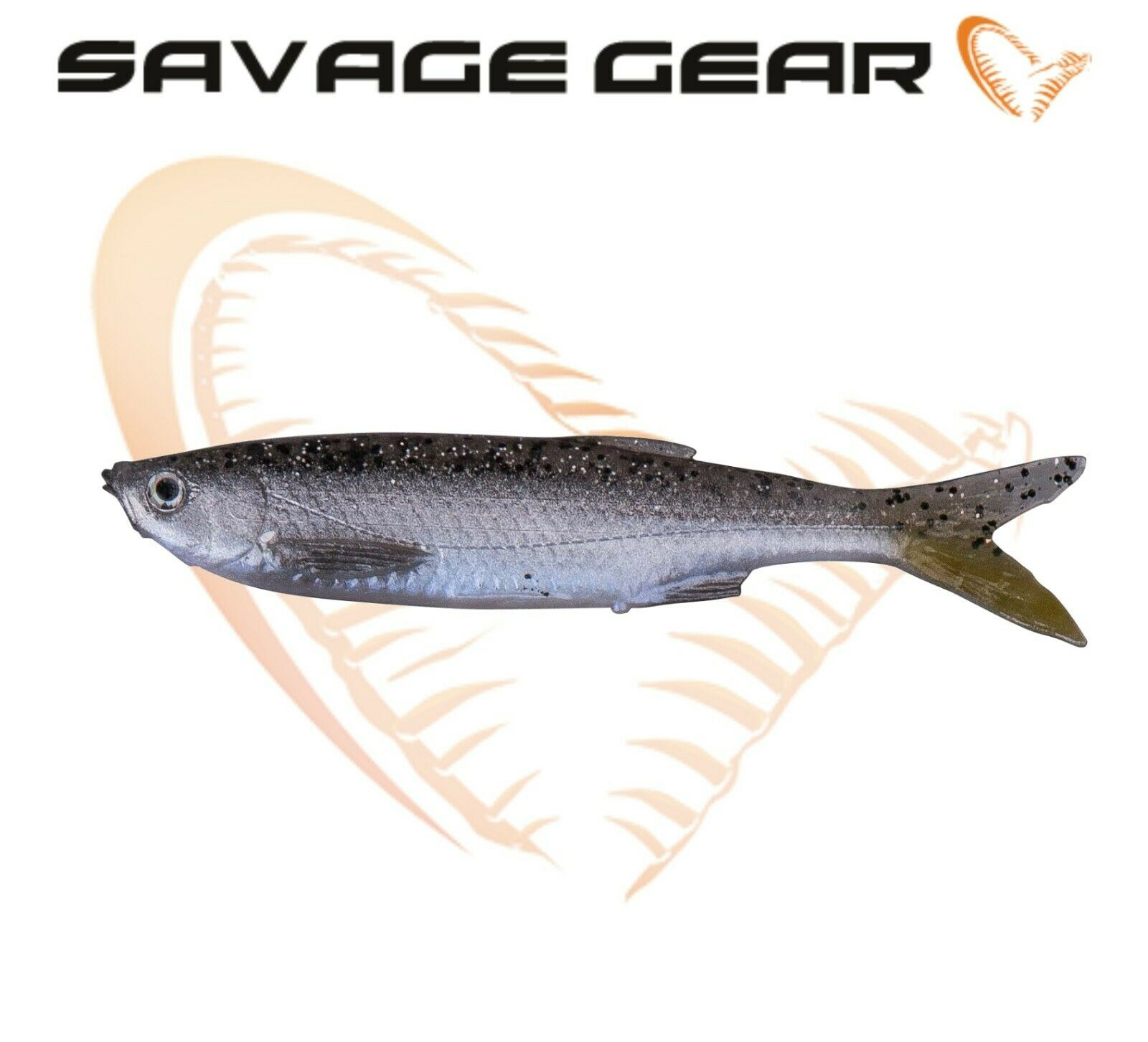 Savage Gear LB 3D Bleak Paddle Tail Bulk 10cm 8g 4 Stück Gummiköder NEU 2019