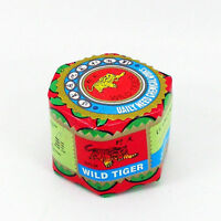 2 Wild Tiger Balm Herbal Rub Massage Muscles Ointment Menthol Fast Pain Relief