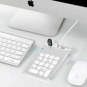 Rocketek-USB-2-0-Numeric-Keypad-18-Keys-Hubs-For-Keyboard-Ultra-Slim-Number-Pad