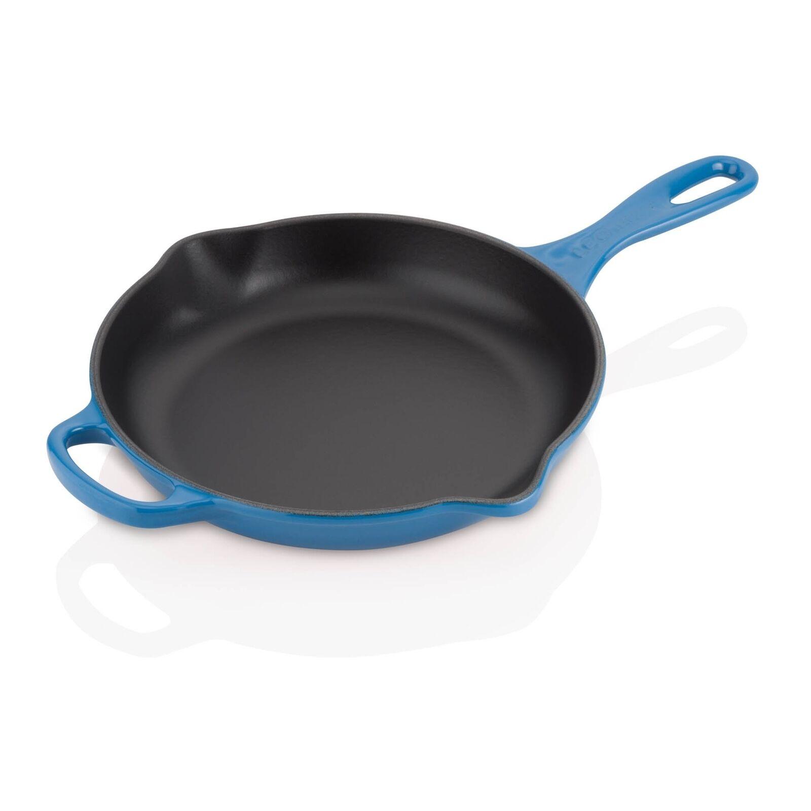 Le Creuset Signature Fonte Poêle/Serving Pan cm, 23 cm, Pan Marseille Bleu 6f35d9