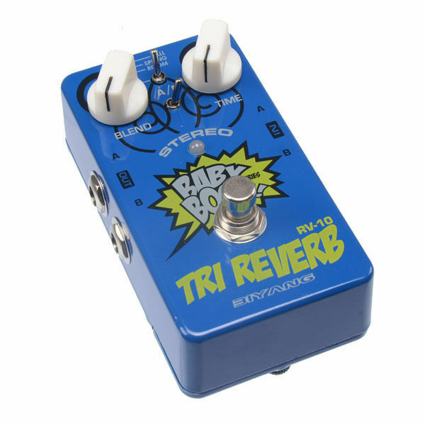 BIYANG RV-10 3 MODE TRI REVERB  3 MODE  REVERB STEREO OUTS BEST SELLER NEW