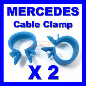 mercedes cable pipe clamp wires wiring loom harness clip holder 14mm rh ebay co uk Wiring Harness Connectors Warping a Loom 4 Harness
