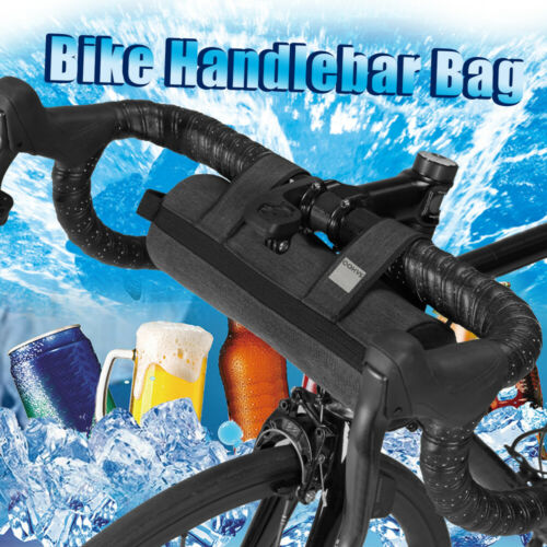 Bike Handlebar Bag Bicycle Top Tube Pack Pannier Road Cycling Front Frame Pouch