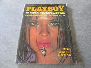 "PLAYBOY Magazine FEBRUARY 1977 STAR STOWE Centerfold, RAQUEL WELCH ""MOTEL TAPES""   eBay"