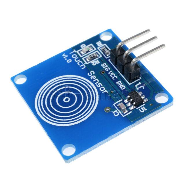 5V Laser Receiver Sensor Module Icstation 5V Laser Recevier Sensor Module Relay Switch for Arduino Pack of 5