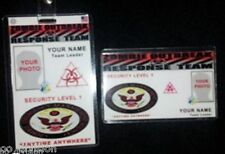 ZOMBIE OUTBREAK RESPONSE TEAM    ID badge & wallet size ID card