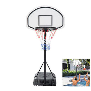 Pool Basketball Hoop Goal Net Games Sports Backboard Poolside ...
