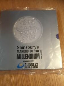 Details about sainsburys medal collection coins makers of the millennium
