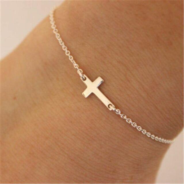 Fashion Jewelry Cross Anklets Ankle Bracelet Foot Jewelry Leg Chain Women Chains