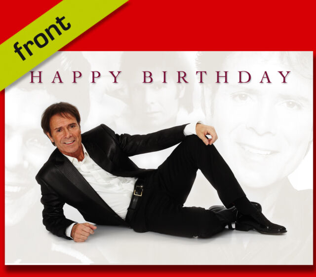 Cliff Richard Birthday Card Top Quality Repro Autograph Signed A5 Ebay