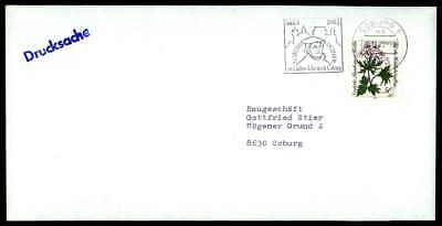 Zielstrebig Brd Brief 1983 Coburg Werbestempel Martin Luther Lutero H1814 Geschichte