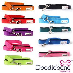 Doodlebone-Dog-LEADS-Puppy-Bold-Durable-Nylon-Adjustable-2-Sizes