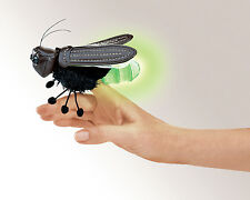 Firefly Finger Puppet Tail Lights Up, Folkmanis MPN 2728, 3 & Up, Boys & Girls