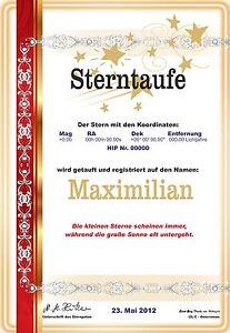 Luxus-STERNTAUFE-zum-himmlischen-Preis-Geschenk-Jubilaeum-Geburtstag-Hochzeit