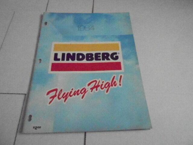 1984 VINTAGE CATALOG #1531 - LINDBERG CAR PLANE ANATOMICAL MODELS