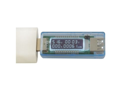 USB Charger Doctor Capacity Time Current Voltage Detector Meter Battery Tester M