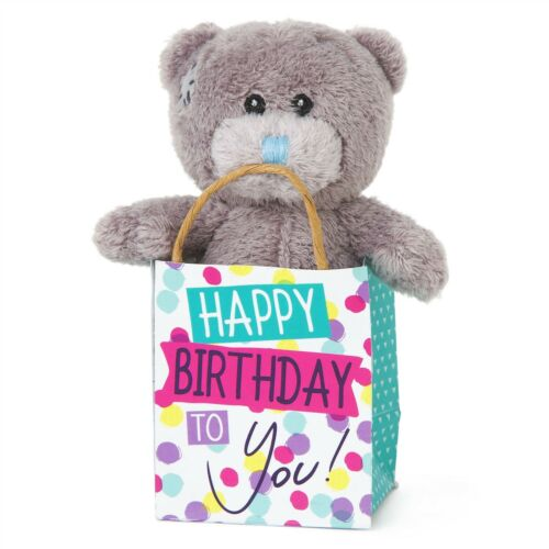 "Me to you happy birthday 3 /""en peluche sac cadeau cadeaux anniversaires-tatty teddy bear"