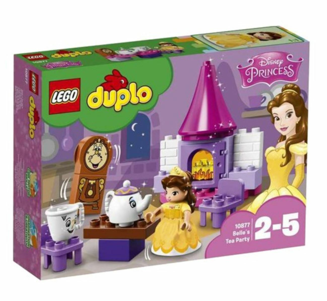 [LEGO] Duplo 10877 Creative Play Belle´s Tea Party 2018 Version Free Shipping