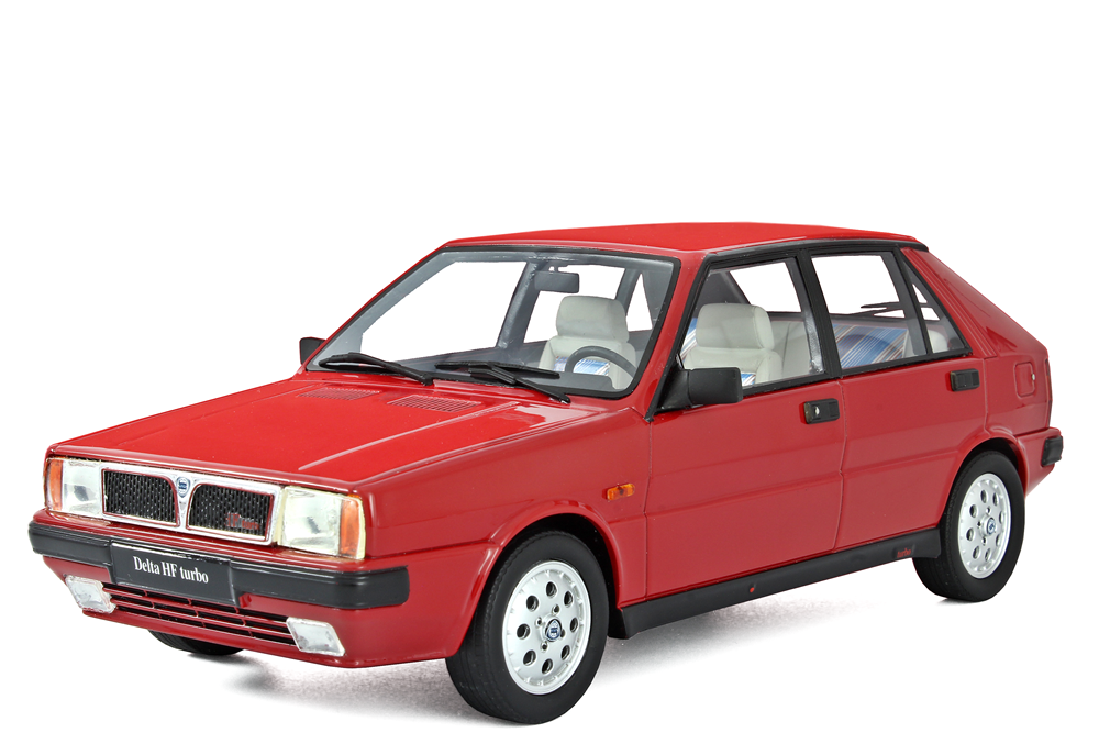 Laudoracing-Models LANCIA DELTA 1600 HF TURBO IE  r86  3 ° série 1986 1 18 lm108b
