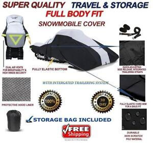 Full Fit Snowmobile Sled Cover POLARIS 600 RUSH XCR LE 2018