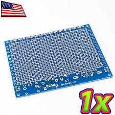 [1x] 9 x 10 cm DIY PCB Universal Prototype Circuit Breadboard USB, Serial, DB9