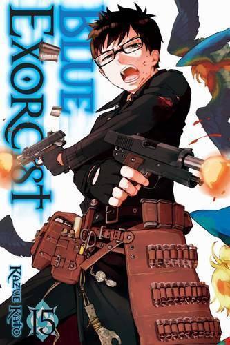 Blue Exorcist,Vol. 15 Par Kato ,Kazue ,Neuf Livre ,Gratuit & ,(Livre de Poche