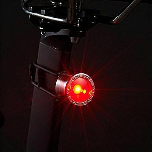 CATEYE SL-LD135-R Nima 2 Bicycle Rear Safety Light Chrome Red from Japan