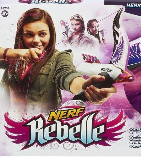 Nerf Rebelle Bogen Bogenschießen Pfeile Darts Heartbreaker Neu