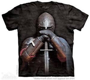 NEU-Mittelalter-RITTER-T-Shirt
