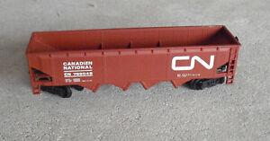 Vintage-HO-Scale-Bachmann-Canadian-National-CN-789048-Hopper-Car