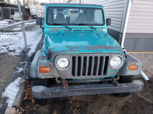 1997 Jeep TJ Na