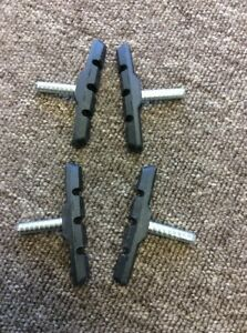 2 Pairs Of Quality Mountain Bike Cantilever Brake Blocks Post Fit MTB - Thurmaston, Leicestershire, United Kingdom - 2 Pairs Of Quality Mountain Bike Cantilever Brake Blocks Post Fit MTB - Thurmaston, Leicestershire, United Kingdom