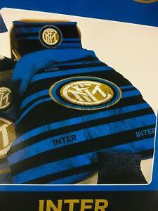 Piumone Matrimoniale Inter.Trapunta Piumone Invernale Singolo Squadre Milan Inter Juventus