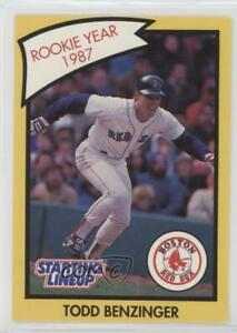 1990 Starting Lineup Cards Rookie Year Todd Benzinger