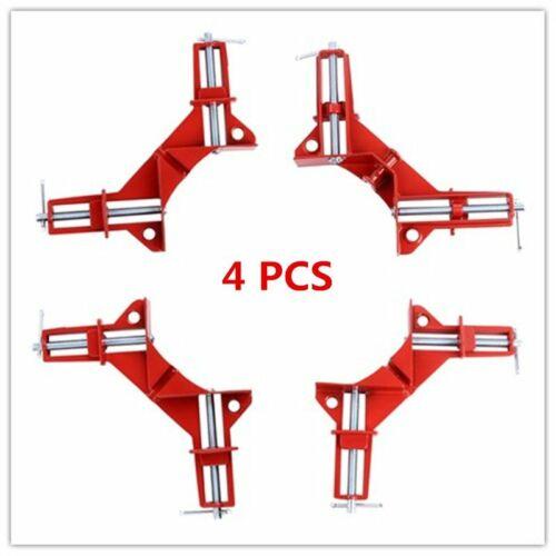 4Pcs 90° Presse d/'angle Serre joint Dormant Soudure Menuiserie Collage Etau 75mm