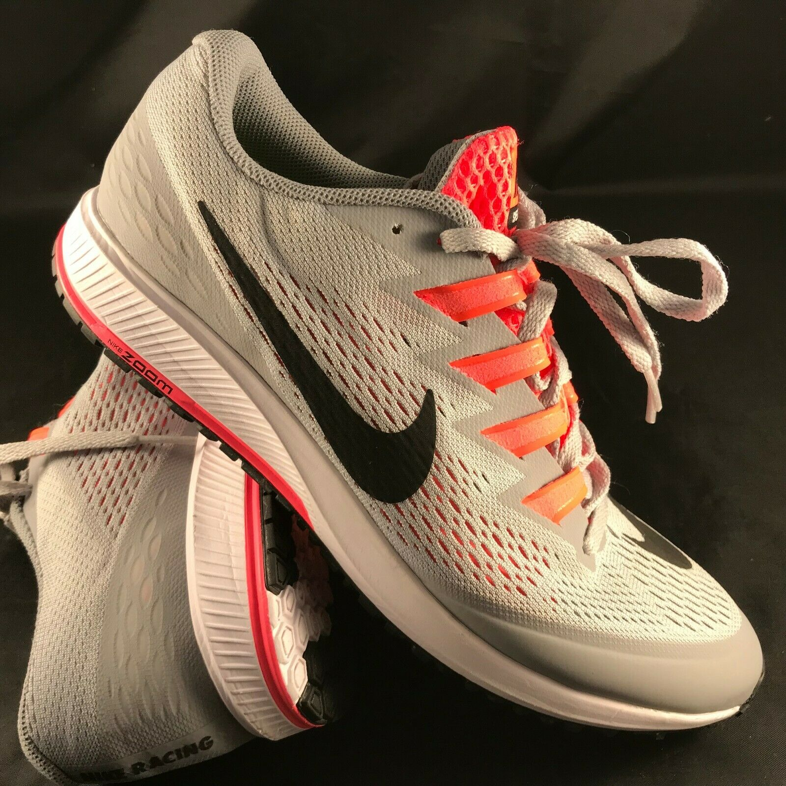 Nike Air Zoom Speed Rival 6 Mens Racing Running shoes 8.5 US, 42 EUR Wolf Grey
