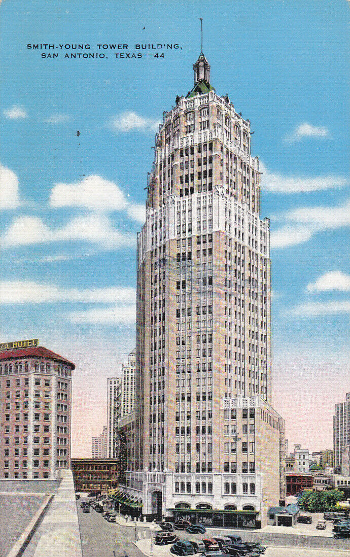 SAN ANTONIO, Texas, PU-1942; Smith Young Tower Building