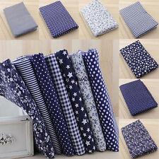 7pcs/Set Baumwolle Tuch Stoff Baumwolle Floral  DIY-Nähen Patchwork Stoffpakete