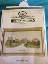 The Heritage Collection Cross Stitch Kit Windsor Castle