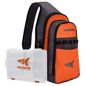 KastKing Pond Hopper Fishing Sling Tackle Storage Bag Holds (3) 3600 Tackle Box