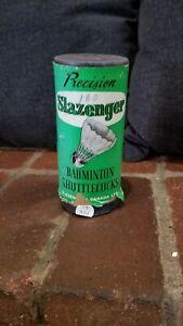 Slazenger-Precision-Badminton-Shuttlecocks-Vintage-Medium-E11
