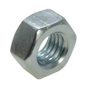 Qty-10-Hex-Standard-Nut-M5-5mm-Zinc-Plated-High-Tensile-Class-8-Full-ZP