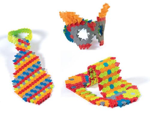 1250 Piece Hexiflex Megamix Set Flexible 3D Puzzle Art jigsaw puzzles