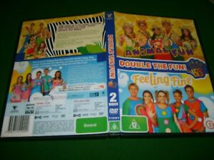 Hi-5-ANIMAL-FUN-FEELING-FINE-2006-Roadshow-Channel-9-Double-DVD-Issue-Reg-4