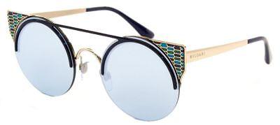Herrlich Bvlgari Sonnenbrille Sunglasses 6088 2020/6j Etui Sonnenbrillen & Zubehör Sonnenbrillen
