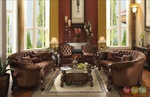 Image Is Loading Versailles Traditional 2 Piece Oval Living Room Set