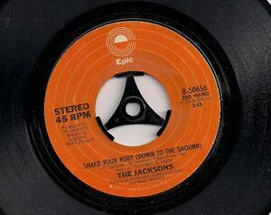 The Jacksons Shake Your Body Down To The Ground  USA 45 7034 single - Worthing, United Kingdom - The Jacksons Shake Your Body Down To The Ground  USA 45 7034 single - Worthing, United Kingdom