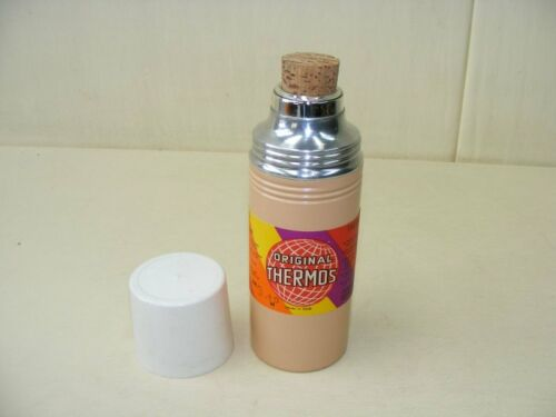 Thermoskanne Kult Design 70er Jahre Camping Farbe rot//creme original Thermos