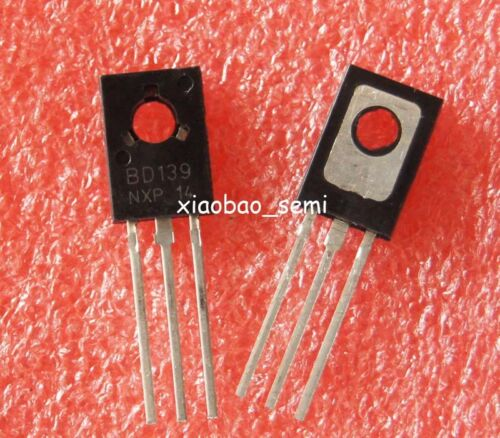 50pcs Bd139 Npn Transistor 1,5 a 211 To-126 Nuevo